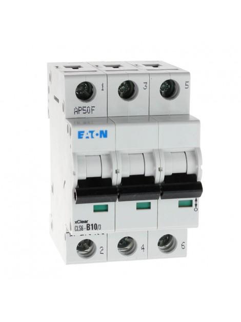 Wyłącznik nadprądowy 3P CLS6 B 10A 6kA AC 270406 Eaton Electric