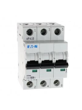 Wyłącznik nadprądowy 3P CLS6 B 20A 6kA AC 270409 Eaton Electric
