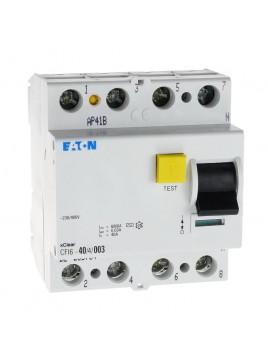 Wyłącznik różnicowoprądowy CFI6 4P 40A 30mA typ AC 235784 Eaton Electric