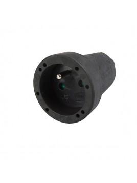 Gniazdo przenośne gumowe z uziemieniem 16A 230V IP44 2107 FAMATEL