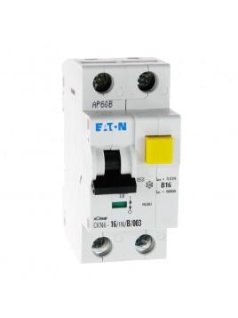 Wyłącznik różnicowoprądowy z członem nadprądowym CKN6 2P B 16A 30mA typ AC 241114 Eaton Electric