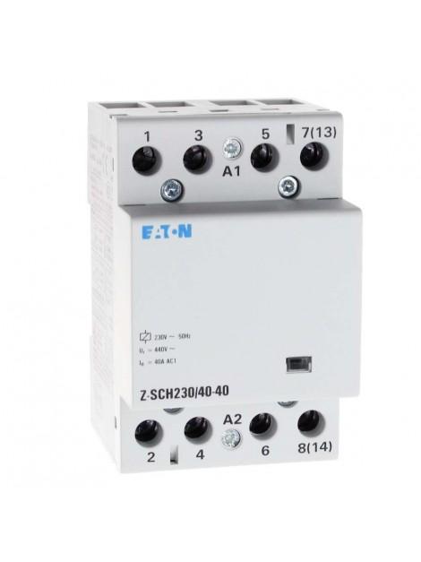 Stycznik modułowy Z-SCH230/40-40 AC1 40A 4NO 248852 Eaton Electric