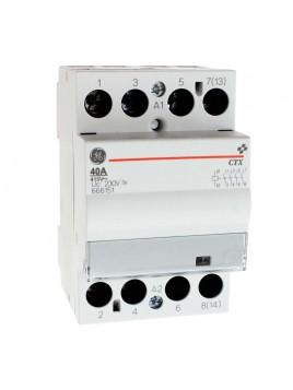 Stycznik modułowy CTX 40.40 4Z 4NO 40A 230V 666151 Redline GE