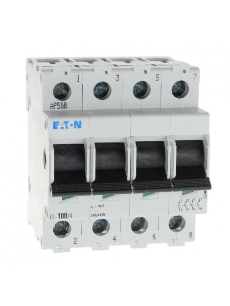 Rozłącznik izolacyjny modułowy IS 4P 100A 240-415V 276285 Eaton Electric