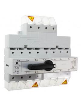 Przełącznik sieć-agregat 125A 4P PRZK 4125NW02 SPAMEL
