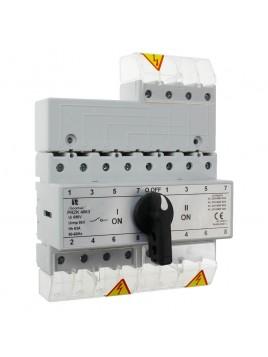 Przełącznik sieć-agregat 63A 4P PRZK 4063NW02 SPAMEL