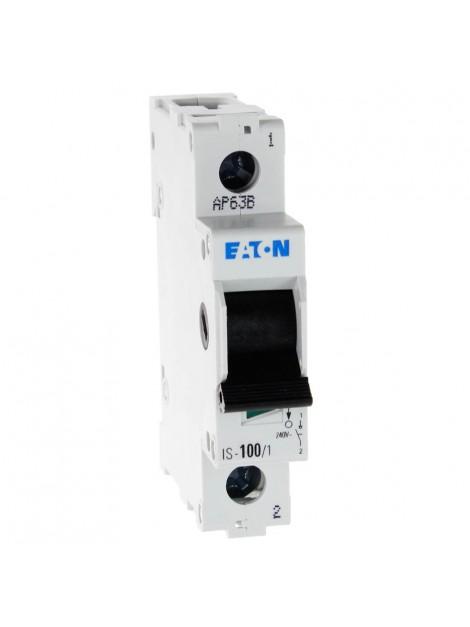 Rozłącznik izolacyjny modułowy IS 1P 100A 240-415V 276282 Eaton Electric