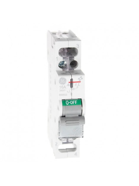 Rozłącznik z lampką Aster AST SL 16 10 16A 1P 666602 Redline GE