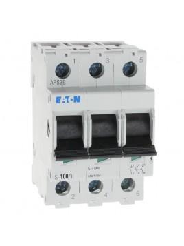 Rozłącznik izolacyjny modułowy IS 3P 100A 240-415V 276284 Eaton Electric