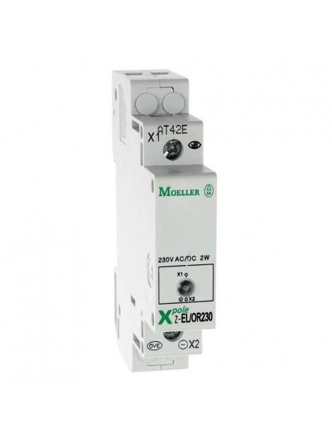 Lampka sygnalizacyjna 1 fazowa pomarańczowa 230V AC/DC na szynę TH 35 Z-EL/OR230 275865 Eaton Electric