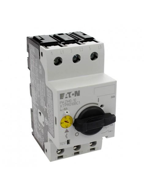Wyłącznik silnikowy magneto-termiczny zakres 6,3-10A PKZM0-10A 072739 Eaton Electric
