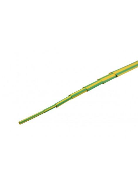 Rurka termokurczliwa NRC 8/4 żółto-zielona Next