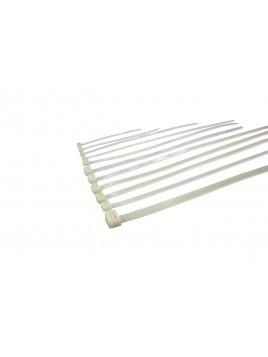 Opaska kablowa nylonowa NOK3/80 biała (100szt.) Next