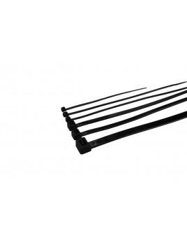 Opaska kablowa nylonowa NOK8/400 czarna (100 szt.) Next