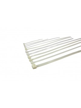 Opaska kablowa nylonowa NOK4/200 biała (100 szt.) Next