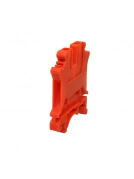 Złączka szynowa gwintowa 1-torowa ZJU-2,5 czerwona Ergom