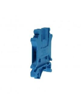 Złączka szynowa gwintowa 1-torowa ZJU-2,5 niebieska Ergom