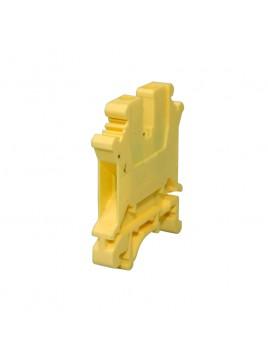 Złączka szynowa gwintowa 1-torowa ZJU-6 żółta Ergom