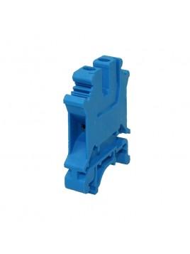Złączka szynowa gwintowa 1-torowa ZJU-6(4) niebieska Ergom