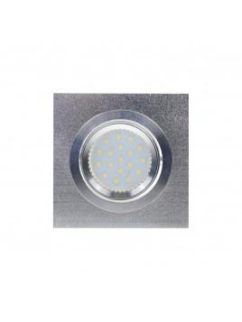 Oprawa LED kwadrat 3w1 3,5W GU10 srebrny piaskowany Tris