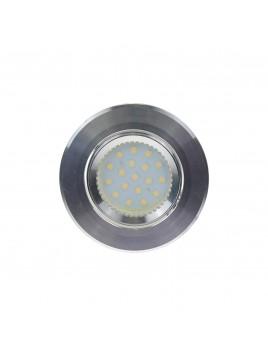 Oprawa LED oczko 3w1 3,5W GU10 srebrny błyszczący Tris