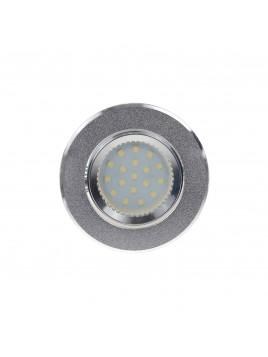 Oprawa LED oczko 3w1 3,5W GU10 srebrny piaskowany Tris