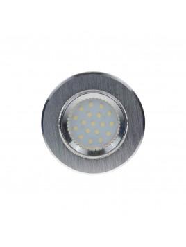 Oprawa LED oczko 3w1 3,5W GU10 srebrny szczotkowany Tris