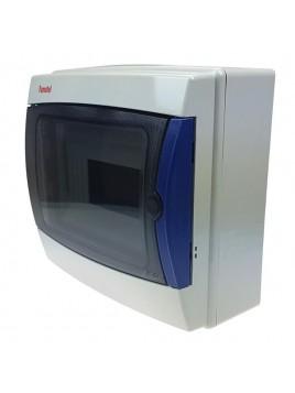 Rozdzielnica hermetyczna natynkowa ACQUA 1x8 IP65 3908-TTB FAMATEL