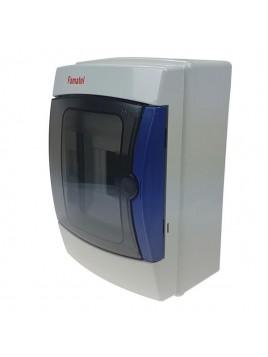 Rozdzielnica hermetyczna natynkowa ACQUA 1x4 IP65 3904-TTB FAMATEL