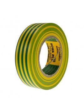 Taśma izolacyjna PCV żółto-zielona 19x20 NT5DX Nowa-Plus