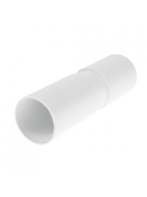 Złączka prosta kielichowa do rur PVC 18 biała