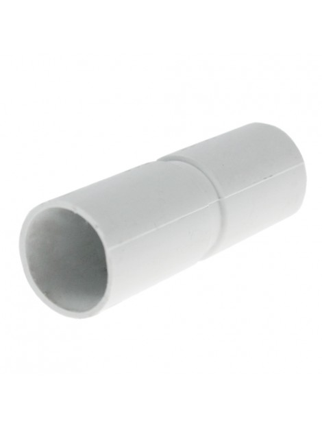 Złączka prosta kielichowa do rur PVC 22 biała