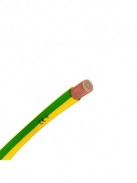Przewód miedziany H05V-k LGY 1 mm2 żo 500V