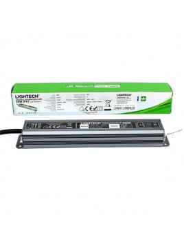 Zasilacz LED SLIM LZS-50W 12V DC IP67 Lightech