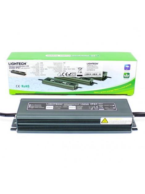 Zasilacz LED SLIM LZS-150W 12V DC IP67 LIGHTECH