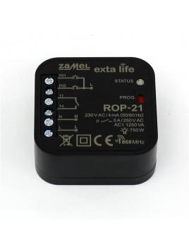 Radiowy odbiornik dopuszkowy 1-kanałowy ROP-21 EXTA LIFE ZAMEL