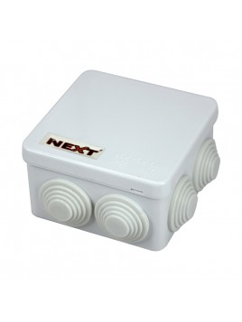 Puszka natynkowa hermetyczna IP55 85x85x50 biała NPH85 Harry Next