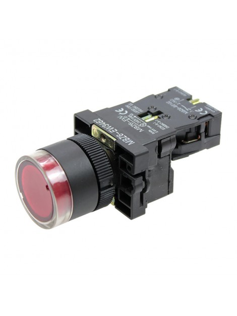 Przycisk sterowniczy podświetlany czerwony 1R 1NC fi 22 MBZ6-EW3462 Next