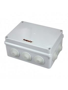 Puszka natynkowa hermetyczna IP65 150x110x70 biała NPH150 Harry Next