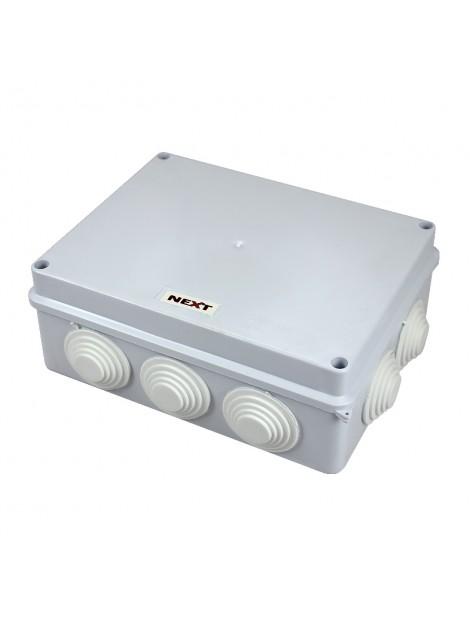 Puszka natynkowa hermetyczna IP65 200x155x80 biała NPH200.2 Harry Next