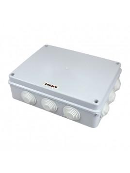 Puszka natynkowa hermetyczna IP65 255x200x80 biała NPH255 Harry Next