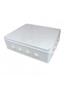 Puszka natynkowa hermetyczna IP65 400x350x120 biała NPH400 Harry Next