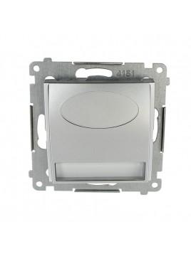 Oprawa schodowa LED DOS.01/43 230V srebro Kontakt Simon54