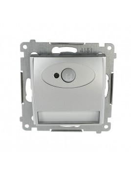 Oprawa schodowa LED z czujnikiem ruchu 230V srebro DOSC.01/43 Kontakt Simon54