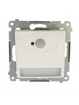 Oprawa schodowa LED z czujnikiem ruchu 230V krem DOSC.01/41 Kontakt Simon54