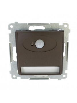 Oprawa schodowa LED z czujnikiem ruchu brąz DOSC.01/46 Kontakt Simon54