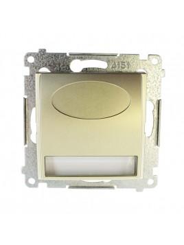 Oprawa schodowa LED DOS.01/44  230V złoty mat Kontakt Simon54