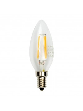 Lampa LED świeca filament 4W/440lm E14 3000K Lightech