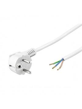 Przewód przyłączeniowy przyłączacz OMY 3x1,5 3m biały uni-schuko PLAST-ROL
