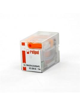 Przekaźnik R-4 4PDT 230V AC WTL R4-2014-23-5230 WTL RELPOL